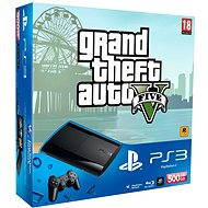 Sony PlayStation 3 Slim New 500GB + GTA 5