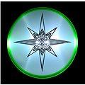 Aerobie Skylighter Svítící Frisbee 30cm - zelená
