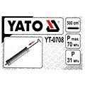 YATO Pumpa olejová ruční 0,5L 1 vývod