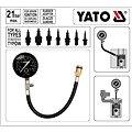 YATO Měřící přístroj kompresního tlaku (hadička)