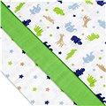 T-tomi Pleny látkové 3 ks - zelení krokodýli