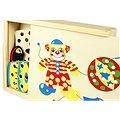 Dřevěný proplétací klaun