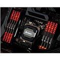 Corsair 16GB KIT DDR4 DRAM 2666MHz CL16 Vengeance LED - red LED