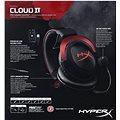 HyperX Cloud II Headset červená