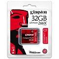 Kingston Compact Flash 32GB 266x Ultimate