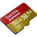 SanDisk MicroSDHC 32GB Extreme UHS-I (V30) + SD adaptér
