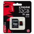 Kingston Micro SDHC 32GB UHS-I U3 + SD adaptér
