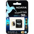 ADATA Premier Pro Micro SDHC 32GB UHS-I U1 + SD adaptér