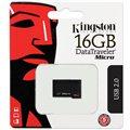 Kingston DataTraveler Micro 16GB černý