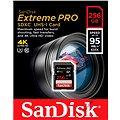 SanDisk SDXC 256GB Extreme PRO 95 Class 10 UHS-I (U3)