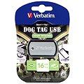 Verbatim Store 'n' Stay Dog Tag 16GB černý