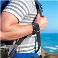 Lunatik EPIK pro Apple Watch 42mm (černé aluminium / černý silikon)