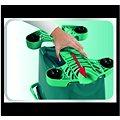 Leifheit Vozík k vědru Clean Twist M, XL 52100