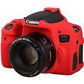 Easy Cover Pouzdro Reflex Silic Canon 750D červené