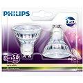 Philips LEDClassic 5,3-50 W, GU10, 2700 K, Set 2 ks