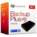 Seagate BackUp Plus Desktop 6TB černý