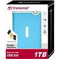 Transcend StoreJet 25M3, 1TB modrý