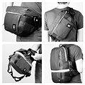 Crumpler Light Delight Foldable Backpack, steel grey