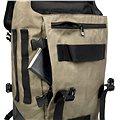 Crumpler Muli Backpack L černý/tarpaulin/khaki
