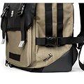 Crumpler Muli Half Photo Backpack Black tarpaulin/khaki