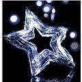 Emos 20 LED Xmas Rattan Star IP20