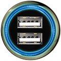 Hama Dual 3.1A modrá LED