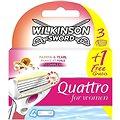 WILKINSON Quattro for Women Sensitive 3+1 ks