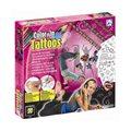 Vybarvovací tetování pro holky
