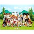 Rodina hedvábných koček Sylvanian Family