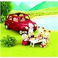 Červené rodinné auto Sylvanian Family