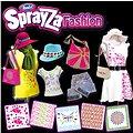 Foukací fixy na textil - Flower Style