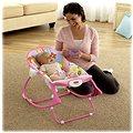 Mattel Fisher Price - Sedátko od miminka po batole růžové