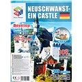 Třívrstvé pěnové 3D puzzle - Zámek Neuschwanstein