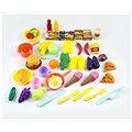 Dětské plastové jídlo s nádobím