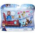 Frozen mini panenka - Hrací sada Anna a sobí spřežení