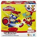 Play-Doh - Kelímky ve tvaru hrdinů Marvel