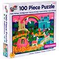 Dlouhé podlahové puzzle - Princezny