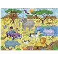 Dlouhé podlahové puzzle - Safari