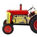 Kovap Traktor Zetor na klíček červený