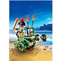 Playmobil 6162 Kapitán pirátů s interaktivním zeleným kanónem
