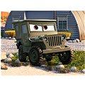 Dino dřevěné kostky kubus - Cars