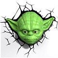 3D Světlo Star Wars Yodova hlava