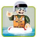 Cobi Small Army - Hydroplán