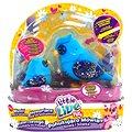 Little Live Pets - Sova se sovátkem modrá