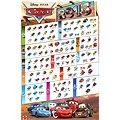 Mattel Cars 2 - Carbon race malé auto Miguel Camino