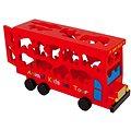 Vkládačka - Dřevěný autobus se zvířátky