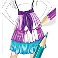 Style me up - Večerní šaty návrhářské portfolio