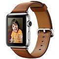 Apple Watch Series 2 38mm Nerez ocel se sedlově hnědým řemínkem s klasickou přezkou