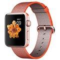 Apple Watch Series 2 42mm Růžově zlatý hliník s vesmírně oranžovým / antracitově šedým řemínkem