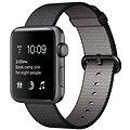 Apple Watch Series 2 42mm Vesmírně šedý hliník s černým řemínkem z tkaného nylonu